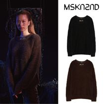 【MSKN2ND】DOUBLE LAYERED NECK SWEATER 2色