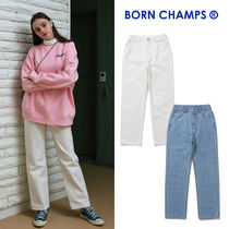 [BORNCHAMPS] BCG WIDE DENIM PANTS CETAGPT01 2COLOR