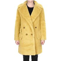 Max Mara★teddy bear alpaca wool coat yellow (EMS関税込)