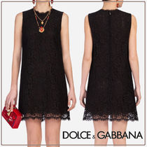Dolce & Gabbana☆A-line dress in cordonetto lace☆送料込