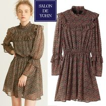 ★日本未入荷★Salon de Yohn   Flower Cuffs Dress