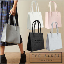 【TED BAKER】国内発送 ロゴ入り leather small shopper