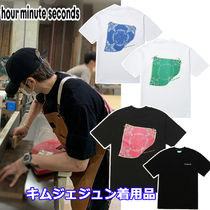 【hour minute seconds】 PAISLEY T-SHIRT ジェジュン 着用