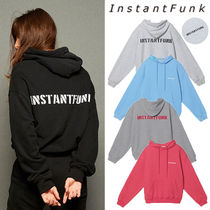 INSTANTFUNK★日本未入荷 20FW Standard logo hooded sweatshirt