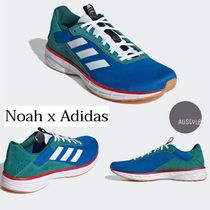 NOAH(ノア) スニーカー ■Noah■SL20 NOAH SHOES BLUE/CORE WHITE/LUSH RED■大人気!