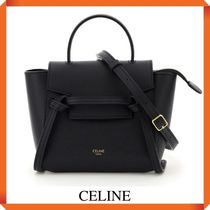 CELINE PICO BELT BAG IN GRAINED CALFSKIN