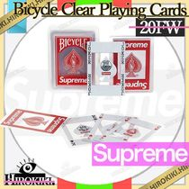 20FW /Supreme Bicycle Clear Playing Cards トランプ カード