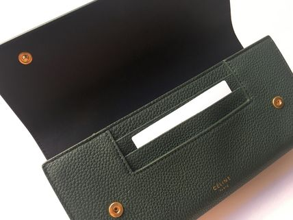 CELINE 長財布 CELINE by Phoebe♡旧ロゴ Large Flap Multifunction長財布(8)