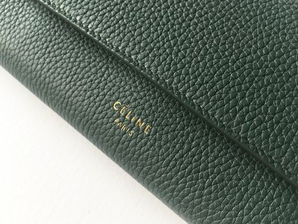 CELINE 長財布 CELINE by Phoebe♡旧ロゴ Large Flap Multifunction長財布(10)