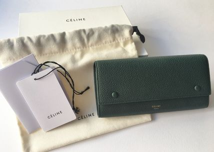 CELINE 長財布 CELINE by Phoebe♡旧ロゴ Large Flap Multifunction長財布(13)
