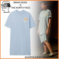 Brain Dead × The North Face◆SHORTSLEEVE T-SHIRT DRESS