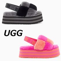 【UGG】サンダルDISCO CHECKER SLIDE