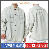 DIAG OVERSIZE DENIM SHIRT / デニムシャツ/Off-White