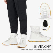【GIVENCHY】SPECTRE ナイロンハイスニーカー ホワイトマット