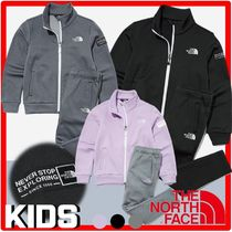 ★新作/人気★THE NORTH FACE★K'S VITAL BRUSHED TRAINING SET