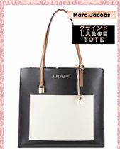 セール!Marc Jacobs 秋色  Grind Leather Tote レザートート★
