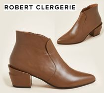 ROBERT CLERGERIE☆Birch Agate Leather Ankle Booties