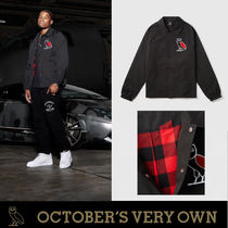 OVO☆Drake☆コーチジャケット BUFFALO PLAID COACHES JACKET