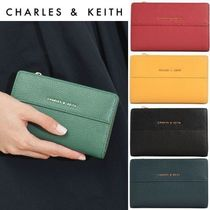 【Charles&Keith】二つ折りミニ財布 / Snap-Button Mini Wallet