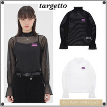 日本未入荷TARGETTO SEOULのFRILL LACE TURTLENECK 全2色