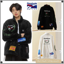 ROMANTIC CROWN x REEBOKのコラボ FLEECE JACKET 全2色