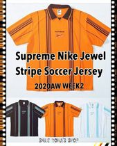 ★20AW WEEK2★Supreme Nike Jewel Stripe Soccer Jersey