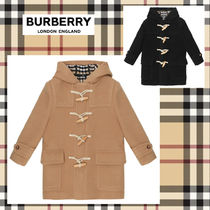 ☆Burberry☆ チェック裏地・キッズダッフルコート♪〜14A