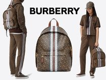 BURBERRY TB モノグラム プリント バックパック #8018651