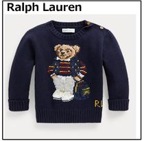 Ralph Lauren Polo Bear Cotton-Blend Sweaterポロベアセーター