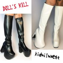 DOLL'S KILL★流行りを気にせず長く履ける♪KNEE HIGH BOOTS☆