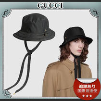 20AW/送料込≪GUCCI≫ GGキャンバス ロゴ リバーシブルハット