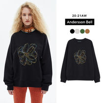 ANDERSSON BELL(アンダースンベル) スウェット・トレーナー ANDERSSON BELL正規品★20AW★FLEUR EMBROIDERY SWEATSHIRT