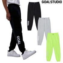 【GOAL STUDIO】i-land 着用★ FLOCKING KNIT JOGGER PANTS 3色