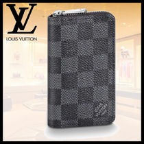 【LOUIS VUITTON】ジッピー・コイン パース 財布 ダミエ