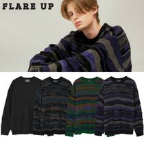 【Flare up】4MIX OVER KNIT SWEATER 4色