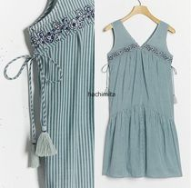 セール☆Anthropologie☆ Aida Embroidered Mini Dress