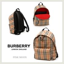 【Burberry】数量限定☆20AW☆VINTAGE CHECK☆JETT☆BACKPACK