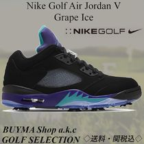 ◇送料関税込◇Nikd Golf Jordan 5 Retro Low  Grape Ice