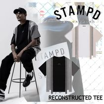 NEW!ロサンゼルス発【STAMPD】RECONSTRUCTED TEE 2color