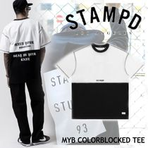 NEW!ロサンゼルス発【STAMPD】MYB COLORBLOCKED TEE-split