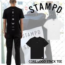NEW!ロサンゼルス発!【STAMPD】CORE LOGO STACK TEE 2color
