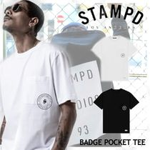 NEW!ロサンゼルス発!【STAMPD】BADGE POCKET TEE 2color