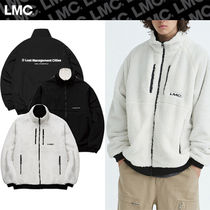 ★20-21FW★LMC★FLEECE REVERSIBLE MP JACKET [CREAM/BLACK]