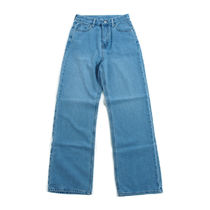 muahmuah::Wide Denim Pants デニム:S[RESALE]