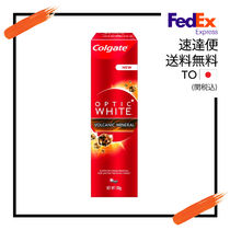 Colgate (コルゲート) Optic White Volcanic Mineral 1のセット
