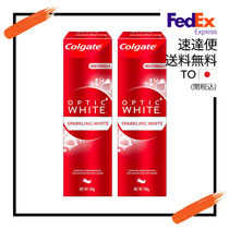 Colgate (コルゲート) Optic White Sparkling White 2のセット