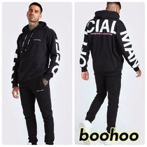 boohoo■Officialプリントバックパーカーセットアップ 関送込