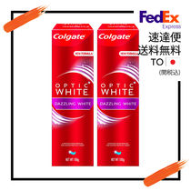 Colgate (コルゲート) Optic White Dazzling White 2のセット