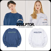 [ SCULPTOR]★韓国大人気★STRIPE APPLIQUE SWEATSHIRT