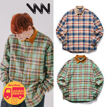 WV PROJECT Mocca balloon check Shirts BBH289 追跡付